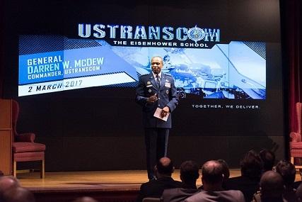 General Darren W. McDew, USAF, Commander, USTRANSCOM